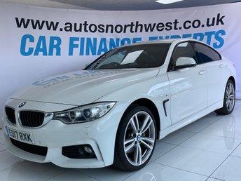 2017 BMW 4 SERIES 3.0 435D XDRIVE M SPORT GRAN COUPE 4d 309 BHP £18500.00