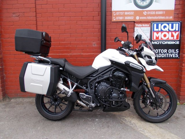USED 2015 15 TRIUMPH TIGER 1200 EXPLORER *FSH, 12mth Mot, 3mth Warranty, Great CNDT* A fully loaded ADV Machine. Finance and Delivery Available.