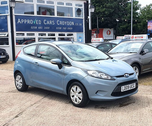 USED 2009 09 FORD FIESTA 1.6 ECONETIC TDCI 3d 88 BHP