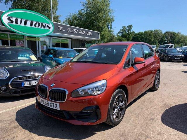 USED 2019 69 BMW 2 SERIES 2.0 220D XDRIVE SPORT ACTIVE TOURER 5d 188 BHP