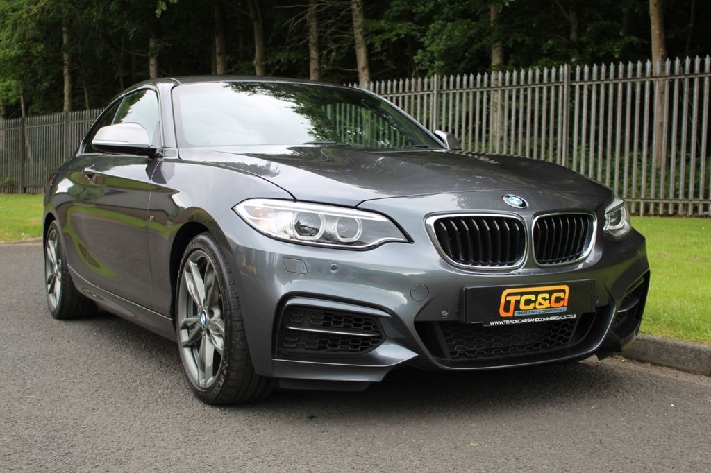 USED 2017 17 BMW 2 SERIES 3.0 M240I 2d 335 BHP A BEAUTIFUL ONE OWNER EXAMPLE WITH BMW DEALER SERVICE HISTORY!!!