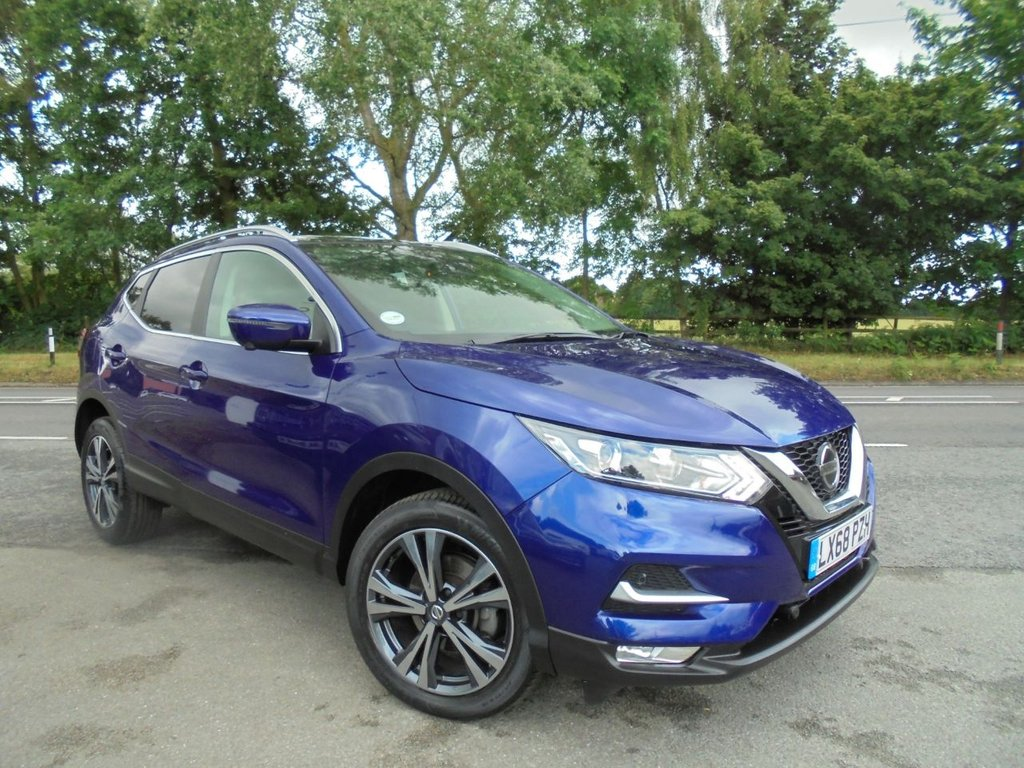 USED 2018 68 NISSAN QASHQAI 1.2 N-CONNECTA DIG-T 5d 113 BHP