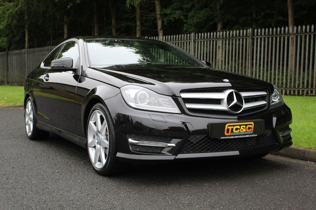 USED 2015 15 MERCEDES-BENZ C-CLASS 2.1 C250 CDI AMG SPORT EDITION 2d 202 BHP A STUNNING LOW MILEAGE C250 WITH SAT NAV AND SERVICE HISTORY!!!