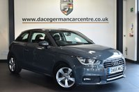 "USED 2015 65 AUDI A1 1.4 TFSI SPORT 3DR 123 BHP Finished in a stunning grey styled with 16"" alloys. Upon opening the drivers door you are presented with half leather interior, full service history, bluetooth, DAB radio, sport seats, cruise control, heated mirrors, multi functional steering wheel, parking sensors"
