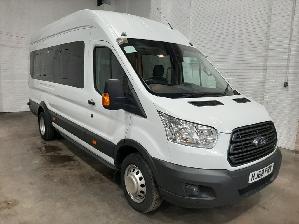 USED 2018 68 FORD TRANSIT MINIBUS 460 L4 H3 TREND 17-seats 125ps