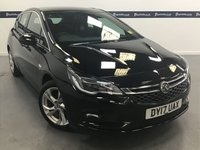 USED 2017 17 VAUXHALL ASTRA 1.4 SRI NAV 5d 150 BHP (ONE OWNER FROM NEW )