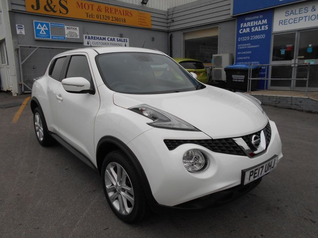 USED 2017 17 NISSAN JUKE 1.2 N-CONNECTA DIG-T 5d 115 BHP **FULL SERVICE HISTORY**