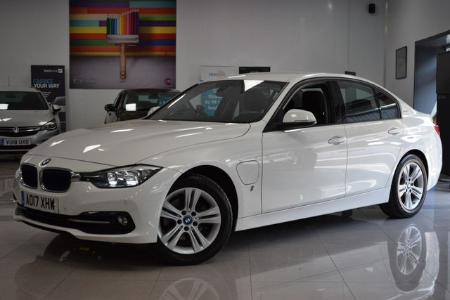 USED 2017 17 BMW 3 SERIES 2.0 330E SPORT 4d 181 BHP STUNNING BMW 330E, 2 KEYS, POWERFUL CAR, PETROL!