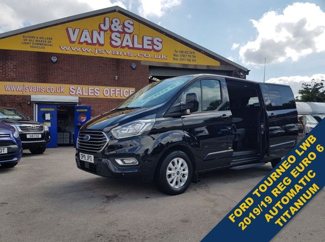 USED 2019 19 FORD TOURNEO CUSTOM 2.0 320 TITANIUM L.W.B MINIBUS 2019/19 AUTOMATIC EURO 6 ( LOTS MORE IN STOCK OVER 100 ON SITE )