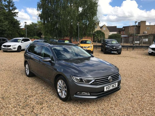 USED 2017 17 VOLKSWAGEN PASSAT 1.6 TDI BlueMotion Tech SE Business (s/s) 5dr Touch Screen Nav, DAB, Cruise
