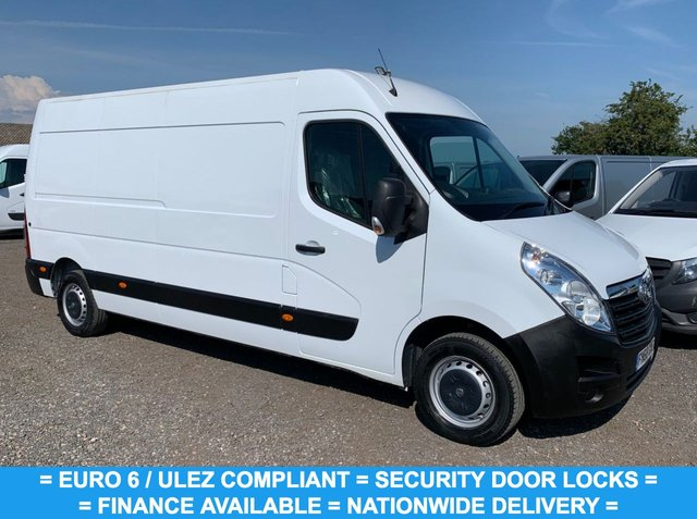 USED 2018 68 VAUXHALL MOVANO 2.3 L3H2 F3500 P/V 129 BHP LWB EURO 6 FINANCE AVAILABLE TODAY ! L3 H2 LONG WHEEL BASE / EURO 6 / SECURITY DOOR LOCKS