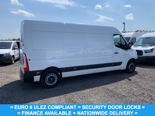 USED 2018 68 VAUXHALL MOVANO 2.3 L3H2 F3500 P/V 129 BHP LWB EURO 6 FINANCE AVAILABLE TODAY ! L3 H2 LONG WHEEL BASE / EURO 6 / SECURITY LOCKS