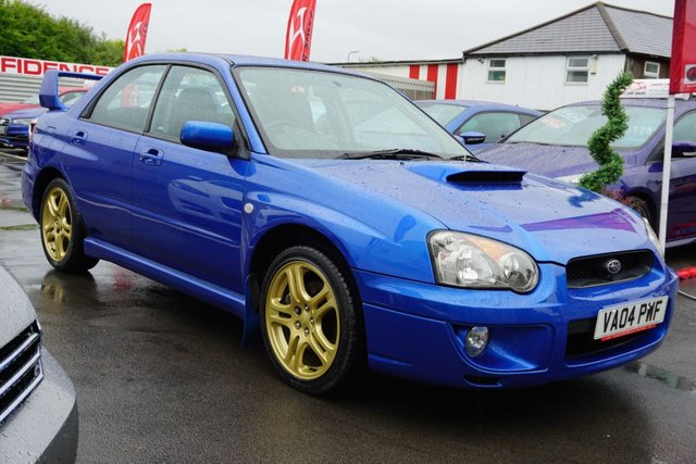USED 2004 04 SUBARU IMPREZA 2.0 WRX TURBO 4d 224 BHP JUST ARRIVED , CLEAN EXAMPLE FOR AGE ... NEW MOT ...PLUS SERVICED
