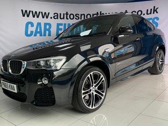 2015 BMW X4 2.0 XDRIVE20D M SPORT 4d 188 BHP £20000.00