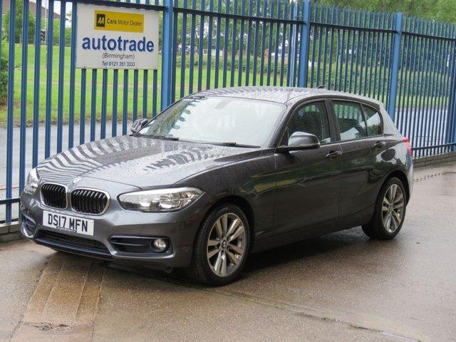 USED 2017 17 BMW 1 SERIES 1.5 116D SPORT 5dr Sat nav DAB Bluetooth & audio Alloys ULEZ Compliant Finance arranged Part exchange available Open 7 days ULEX Compliant