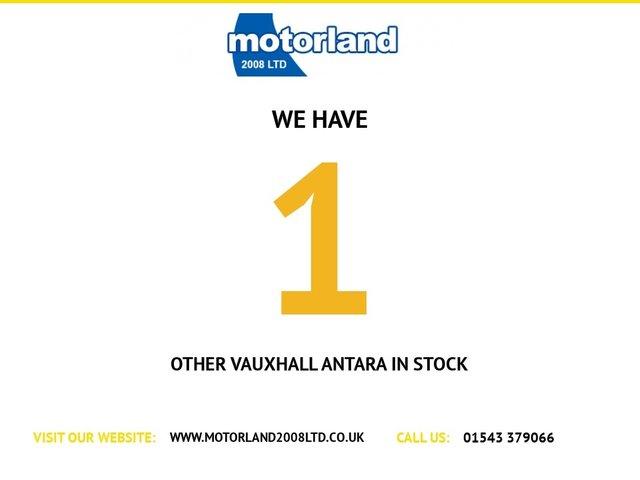 USED 2014 64 VAUXHALL ANTARA 2.2 DIAMOND CDTI S/S 5d 161 BHP ** 01543 379066 ** JUST ARRIVED  **DIESEL