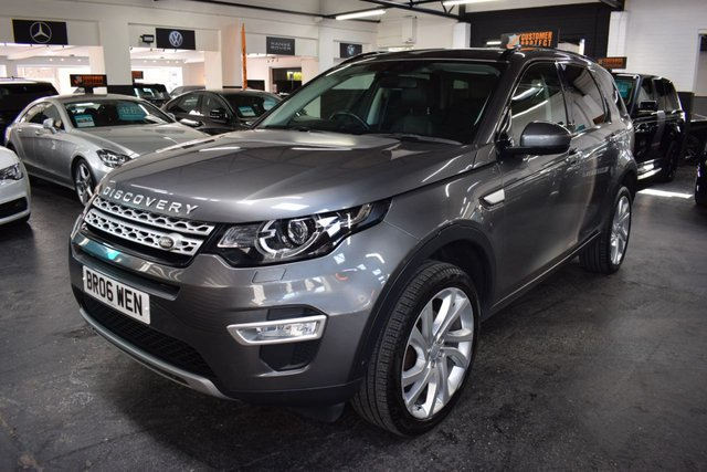 USED 2015 65 LAND ROVER DISCOVERY SPORT 2.0 TD4 HSE LUXURY 5d 180 BHP AUTO 7 SEATS STUNNING TO SPEC HSE LUXURY - ONE OWNER - FULL LANDROVER S/H - 7 SEATS - AUTO - LEATHER - GLASS PANROOF - NAV - H/SEATS