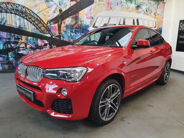 USED 2017 67 BMW X4 3.0 XDRIVE30D M SPORT 4d 255 BHP