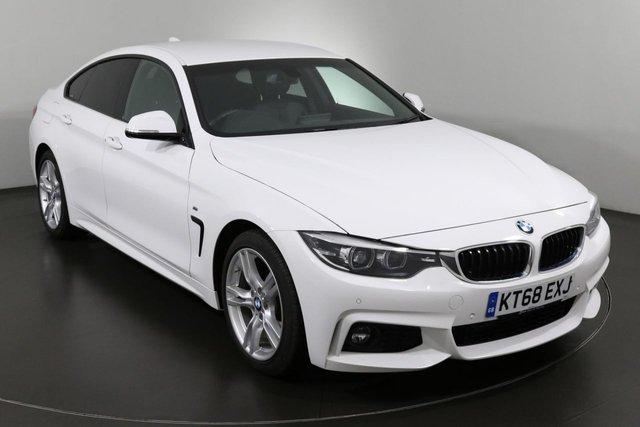2018 68 BMW 4 SERIES 2.0 420D M SPORT GRAN COUPE 4d 188 BHP ULEZ EXEMPT