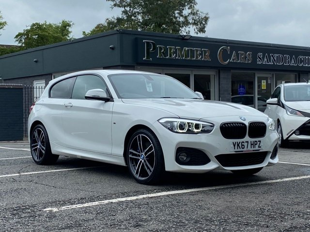 USED 2017 67 BMW 1 SERIES 2.0 120I M SPORT SHADOW EDITION 3d 181 BHP