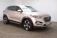 USED 2017 17 HYUNDAI TUCSON 1.7 CRDI SPORT EDITION 5DR 114 BHP FULL SERVICE HISTORY + £30 12 MONTHS ROAD TAX + HEATED FRONT/REAR LEATHER SEATS + SATELLITE NAVIGATION + REVERSE CAMERA + PARKING SENSOR + BLUETOOTH + CRUISE CONTROL + CLIMATE CONTROL + MULTI FUNCTION WHEEL + LANE ASSIST SYSTEM + DAB RADIO + PRIVACY GLASS + XENON HEADLIGHTS + ELECTRIC FRONT SEATS + ELECTRIC WINDOWS + ELECTRIC/HEATED/FOLDING DOOR MIRRORS + 19 INCH ALLOY WHEELS