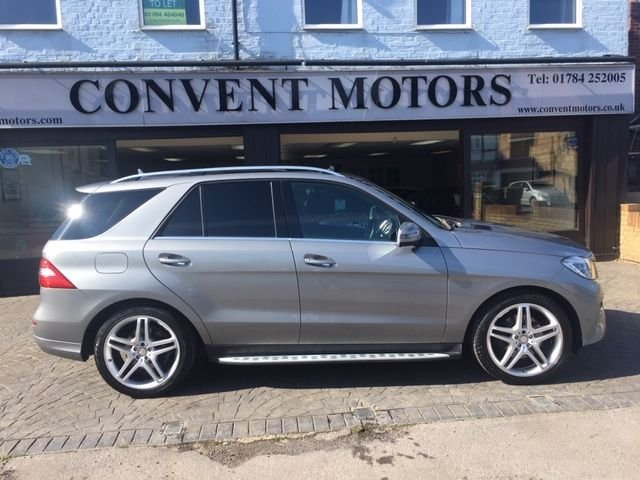 USED 2015 15 MERCEDES-BENZ M-CLASS 3.0 ML350 BLUETEC AMG LINE PREMIUM 5d 258 BHP