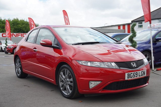 USED 2009 59 HONDA CIVIC 1.8 I-VTEC SI-T 5d 138 BHP GREAT EXAMPLE,, GOOD HISTORY