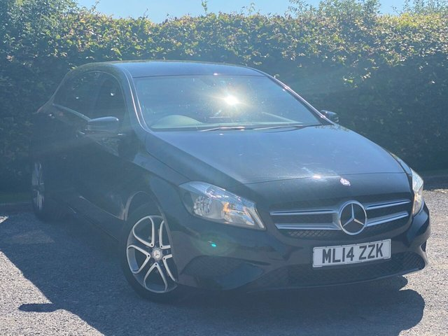 USED 2014 14 MERCEDES-BENZ A-CLASS 2.1 A200 CDI SPORT 5d * 12 MONTHS FREE AA MEMBERSHIP * BLUETOOTH *