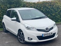 USED 2013 13 TOYOTA YARIS 1.3 VVT-I TREND 5d * 12 MONTHS FREE AA MEMBERSHIP * IDEAL FIRST CAR *