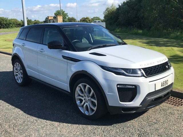 USED 2017 66 LAND ROVER RANGE ROVER EVOQUE 2.0 TD4 HSE DYNAMIC LUX 5d 177 BHP PAN ROOF,MEMORY SEATS, CAMERA