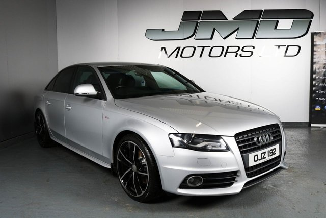 USED 2008 AUDI A4 2008 AUDI A4 2.0 TDI S LINE BLACK EDITION STYLE 141 BHP (FINANCE AND WARRANTY)