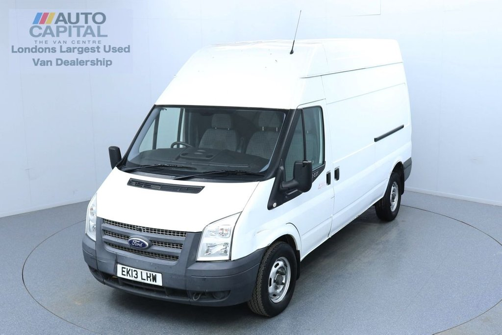 USED 2013 13 FORD TRANSIT 2.2 350 L3 H3 100 BHP No VAT Trade sale only, No warranty | Fully Sanitised Service
