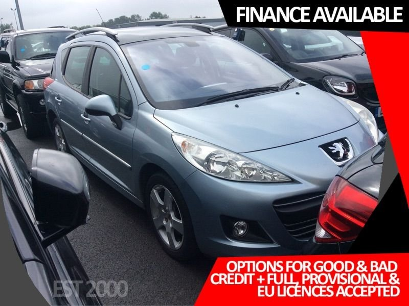 USED 2009 59 PEUGEOT 207 1.6 SW SPORT HDI 5d 90 BHP * CRUISE CONTROL * PAN ROOF *