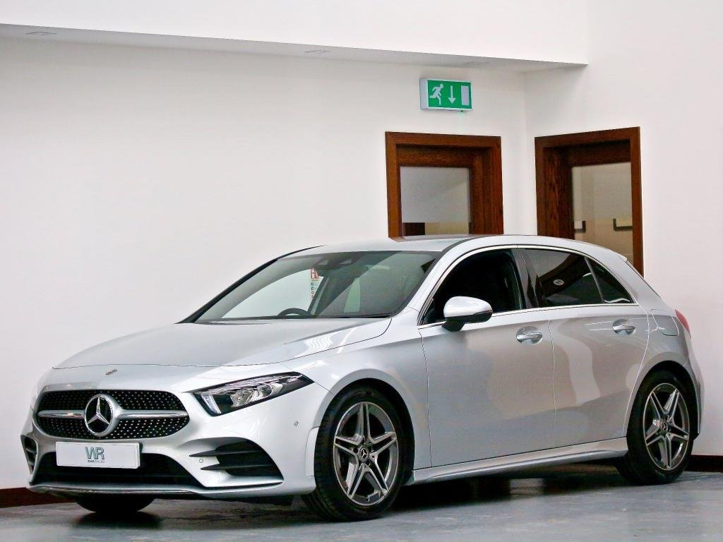 USED 2019 19 MERCEDES-BENZ A-CLASS 1.3 A180 AMG Line (Premium) 7G-DCT (s/s) 5dr VIRTUAL CP + R/CAMERA +H/SEATS