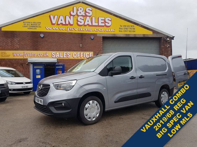 USED 2019 68 VAUXHALL COMBO CARGO L2H1 2300 EDITION LWB TURBO VAN LWB (((( ALL NEW VAUXHALL COMBO CARGO VAN 2019 )))))