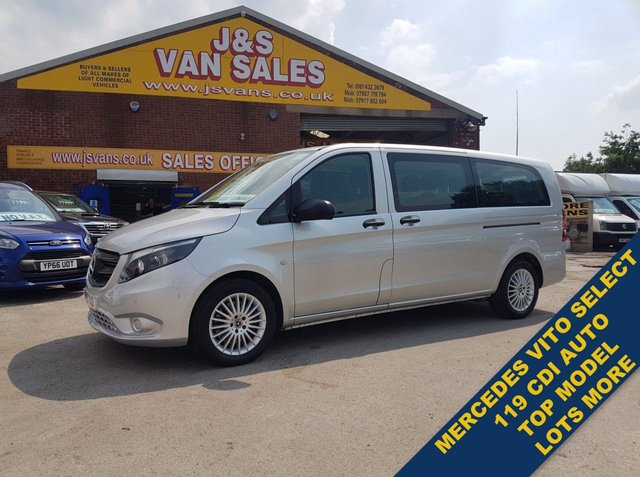 USED 2019 19 MERCEDES-BENZ VITO  MINIBUS 119 BLUETEC TOURER SELECT 190 BHP AUTO CALL FOR MORE INFO OR WATCH FULL H/D VIDEO