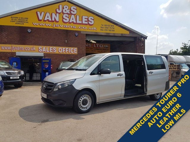 USED 2018 68 MERCEDES-BENZ VITO MPV  BLUETEC TOURER PRO MINIBUS LEATHER EURO 6 (((( LOTS MORE EURO 6 VANS ON SITE OVER 100 )))