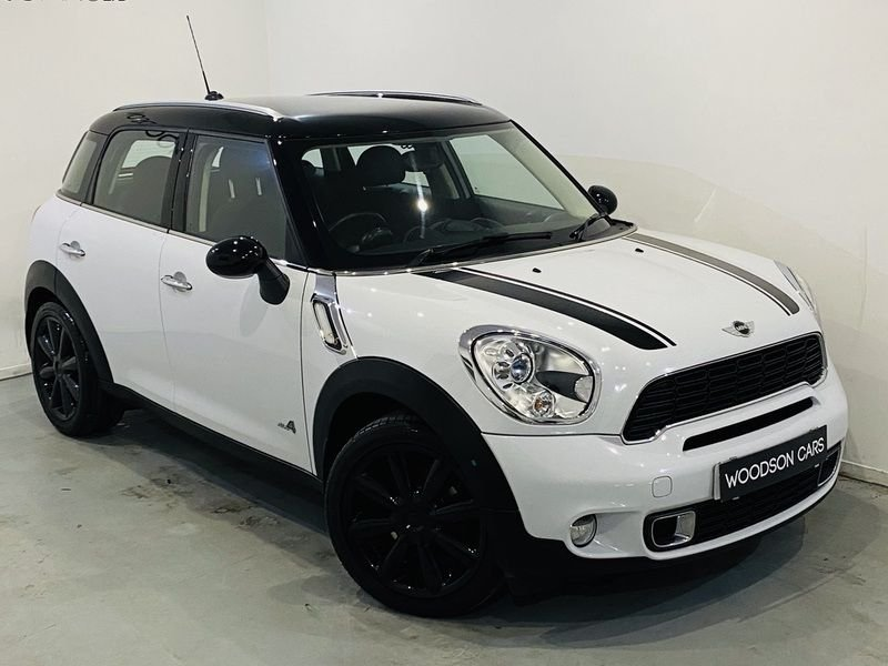 USED 2012 12 MINI COUNTRYMAN 2.0 COOPER SD ALL4 5d 141 BHP Finance Available / Bluetooth / Isofix / Parking Sensors