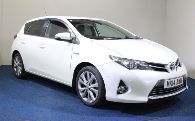 USED 2014 14 TOYOTA AURIS 1.8 EXCEL VVT-I  5d 99 BHP