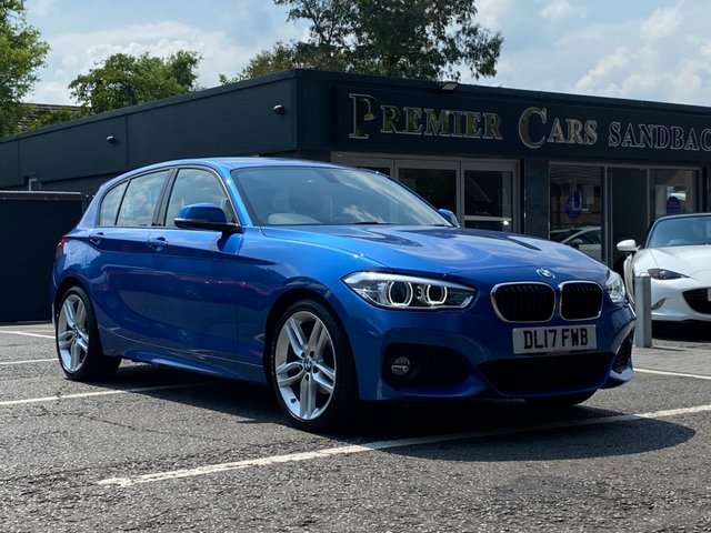 USED 2017 17 BMW 1 SERIES 1.5 116D M SPORT 5d 114 BHP