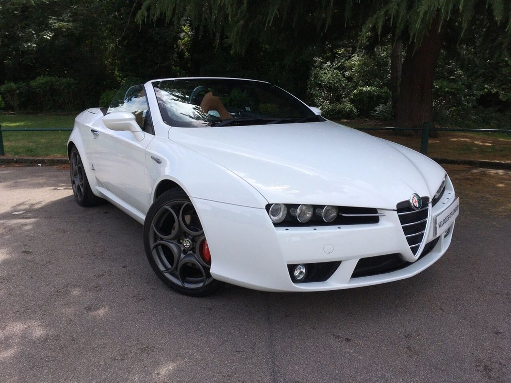 USED 2008 58 ALFA ROMEO SPIDER 3.2 JTS V6 Q4 QTRONIC 2d 260 BHP OVER £8000 OF FACTORY EXTRAS