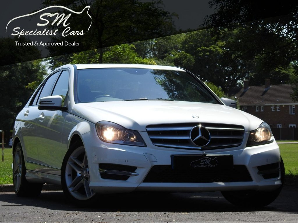 USED 2013 13 MERCEDES-BENZ C-CLASS 2.1 C200 CDI BLUEEFFICIENCY AMG SPORT 4d 135 BHP ONLY 97K FROM NEW A/C VGC