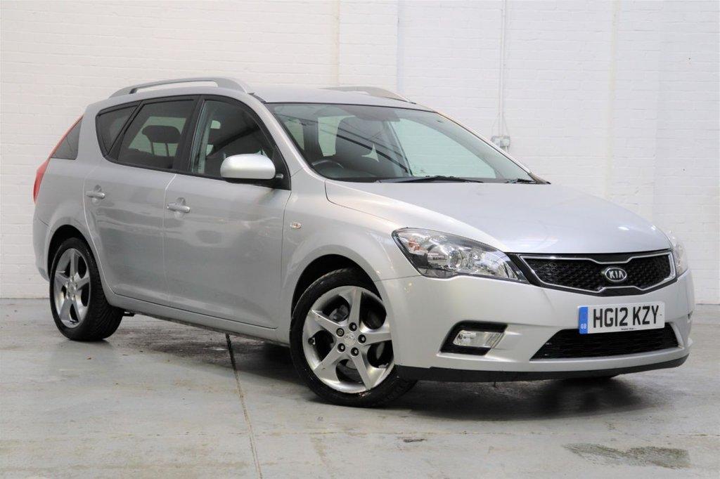 USED 2012 12 KIA CEED 1.6 CRDI 3 SW 5d 114 BHP Parking Aid + Cruise + Bluetooth