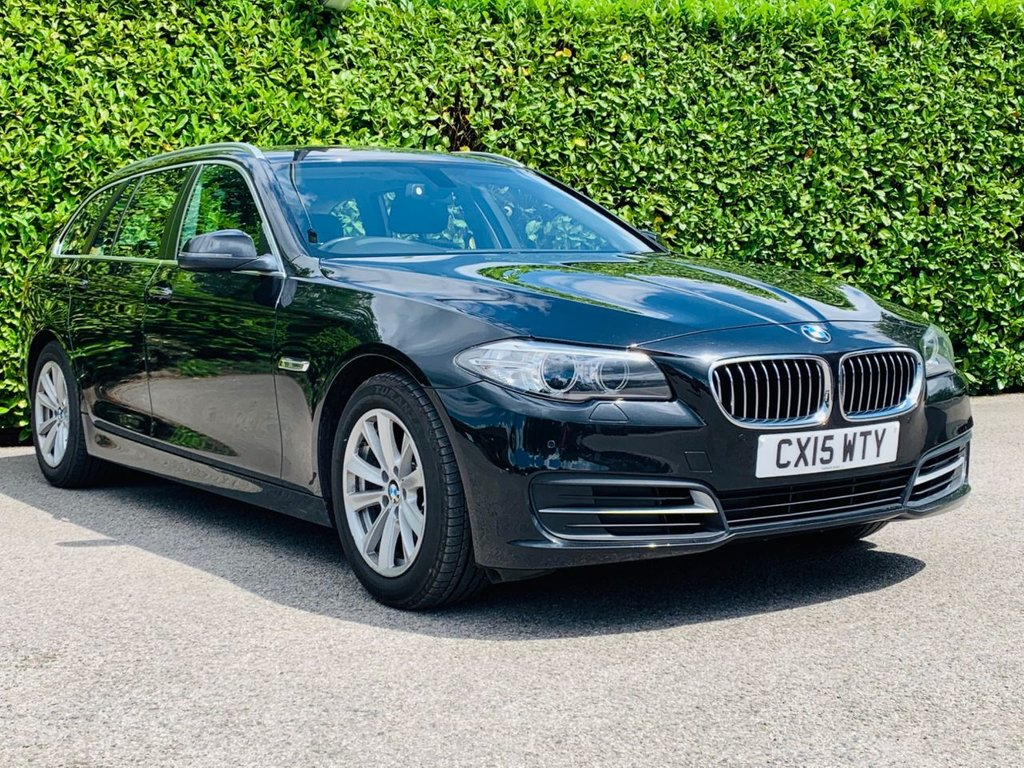 USED 2015 15 BMW 5 SERIES 2.0 525D SE TOURING 5d 215 BHP