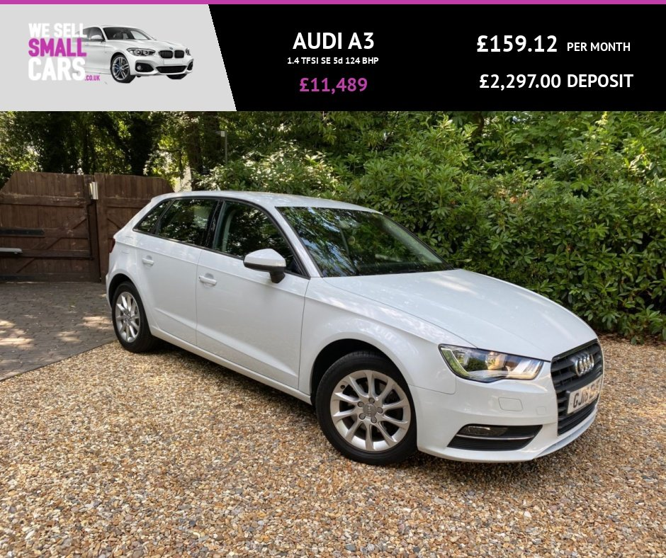 USED 2016 16 AUDI A3 1.4 TFSI SE 5d 124 BHP 1 OWNER FULL AUDI SERVICE HISTORY ALLOYS AIR CON LOW MILES BEST COLOUR
