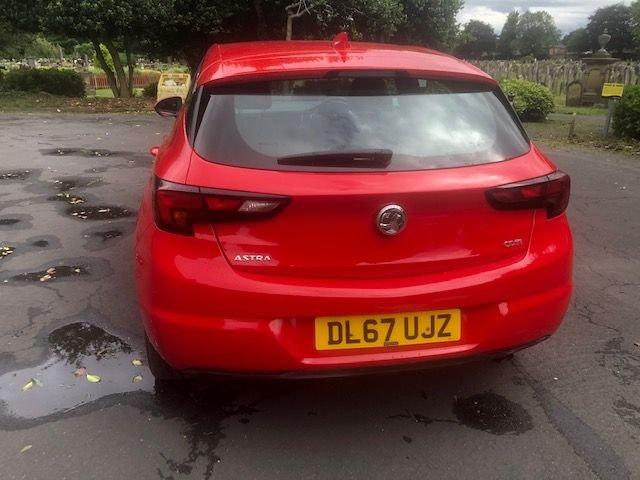 2017 Vauxhall Astra SRI Nav CDTI S/S £9,695