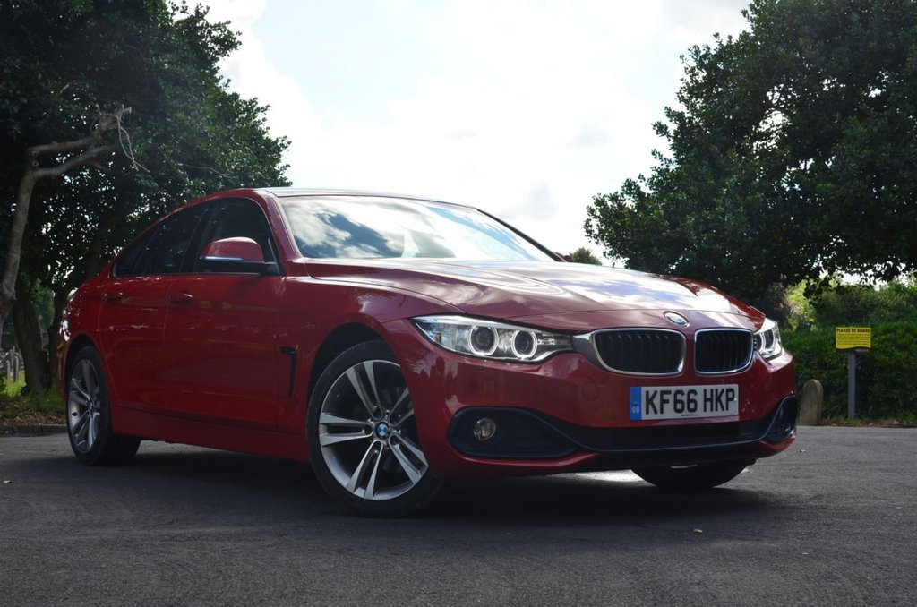 USED 2016 66 BMW 4 SERIES 2.0 420D XDRIVE SPORT GRAN COUPE 4d 188 BHP Buy Online. Nationwide Delivery
