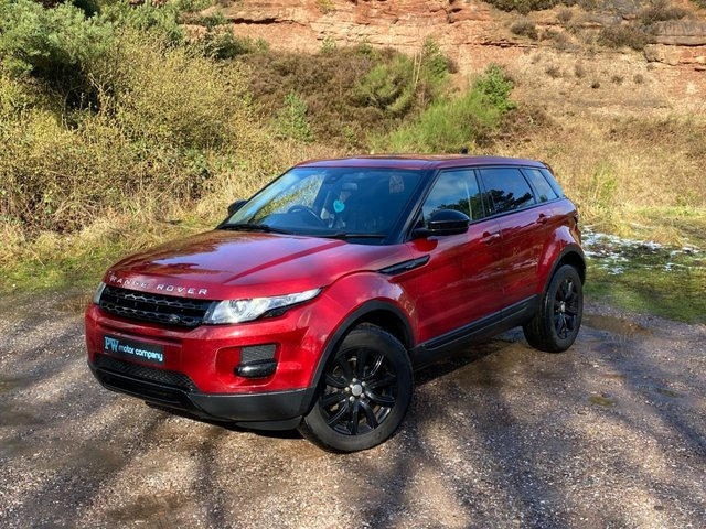 USED 2014 LAND ROVER RANGE ROVER EVOQUE 2.2 SD4 PURE 5d 190 BHP