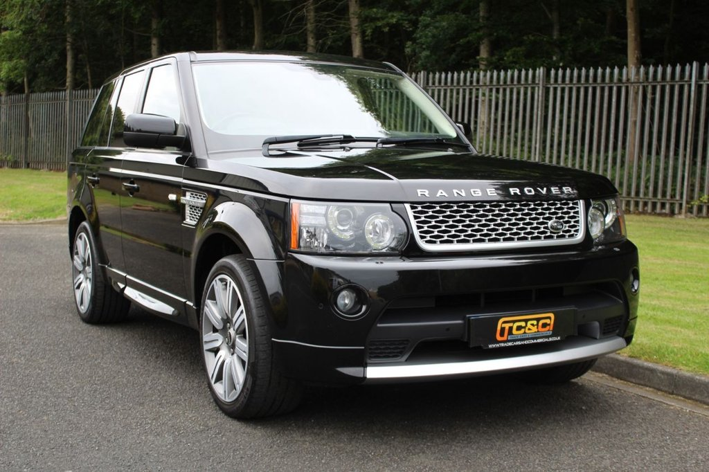 USED 2012 12 LAND ROVER RANGE ROVER SPORT 3.0 SDV6 AUTOBIOGRAPHY SPORT 5d 255 BHP A STUNNING, LOW OWNER, HUGE SPECIFICATION RANGE ROVER SPORT WITH REAR TV, CAMERA AND MORE!!!