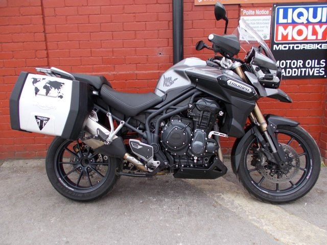 USED 2014 14 TIGER EXPLORER 1215 *Long Mot, 3mth Warranty, Nice Extras, Nice Bike !* A Great FSH Triumph Explorer, Finance Available